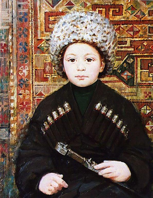 Маленький чеченец