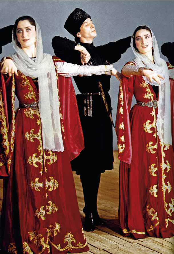 Ансамбль «Вайнах». Чеченский танец.