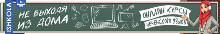 Онлайн уроки чеченского языка
