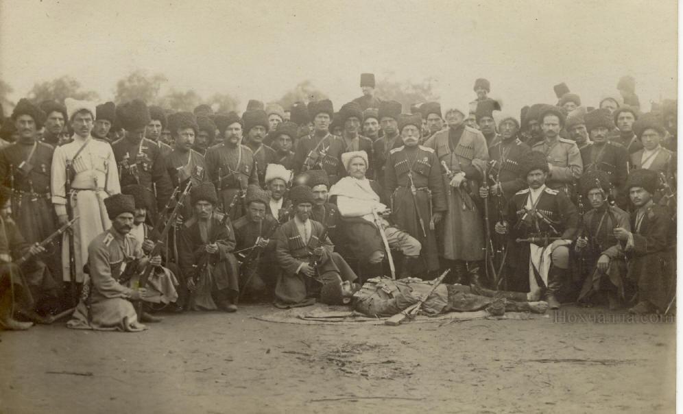 Смерть Абрека Зелимхана