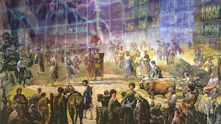 Нохчалла и рынок